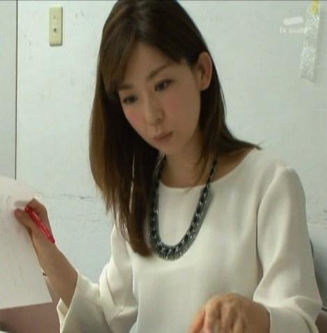真剣な表情の松尾由美子